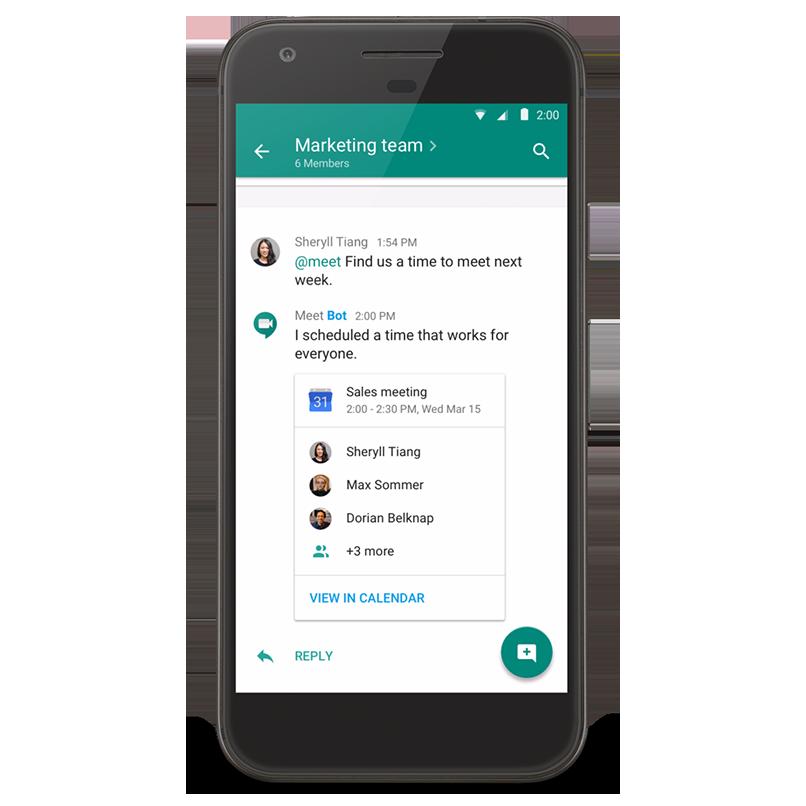 Google G Suite - Hangouts