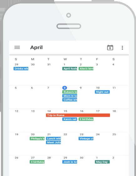 Google G Suite - Agenda