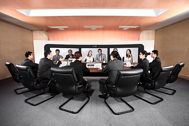 Videoconferência Huawei - Telepresença TP3106