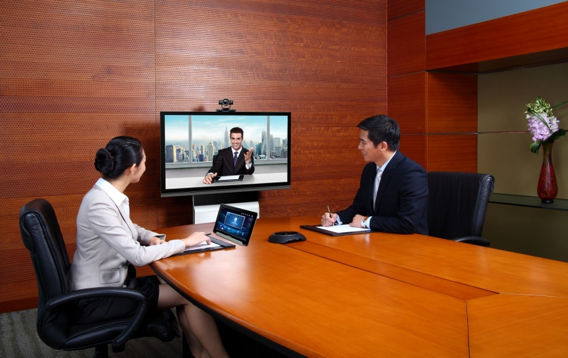 Videoconferência Huawei - Sala de Videoconferencia RP100-48S