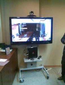 Videoconferência Huawei - Sala Desorganizada