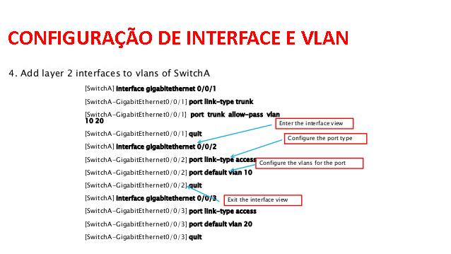CLI Cisco vs Huawei – Configuração de Interfaces e Voice VLAN- (Parte 3)