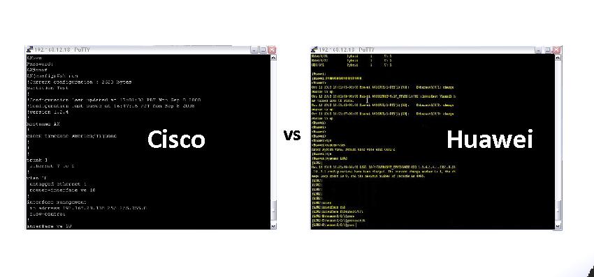 Comandos Cisco vs Huawei – Comparação CLI Básica (Parte 2)