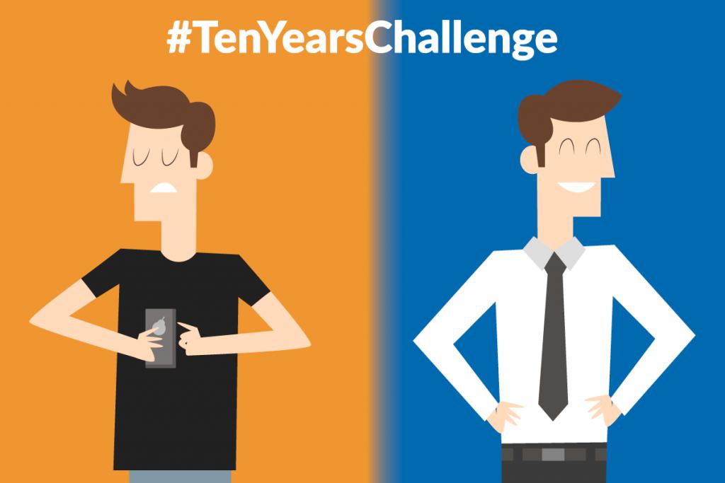 TenYearsChallenge, Ten Years Challenge, #TenYearsChallenge