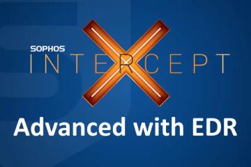 Intercept X Advanced com EDR