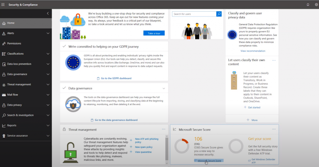 Como podemos utilizar o 365 Security & Compliance Center seguranca-da-informacao