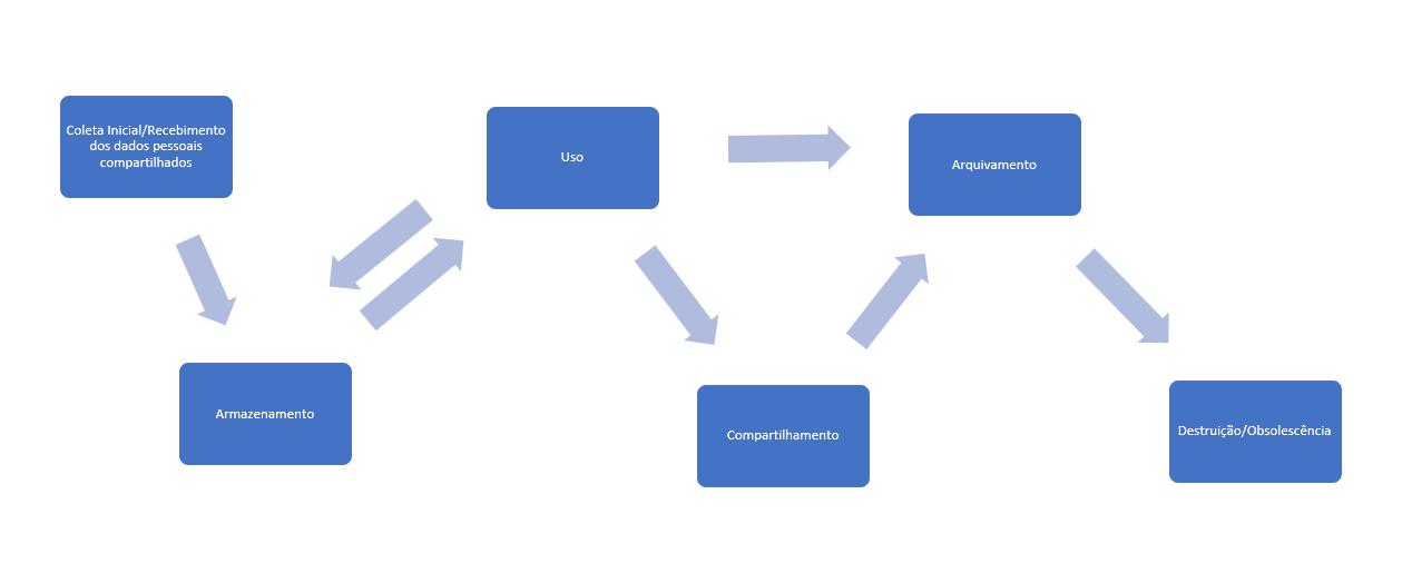 Importância do ciclo de vida do dado pessoal na LGPD lgpd